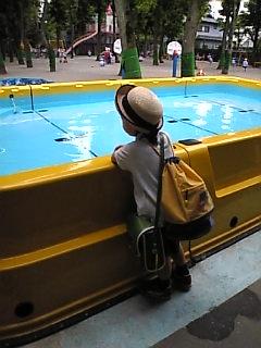 プール開き♪