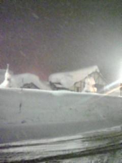 すごい雪景色!